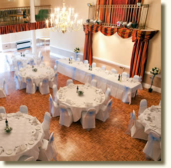 Wedding receptions, functions, parties  at Elme Hall Wisbech